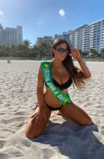 CLAUDIA ROMANI in Bikini Ready for St Patrick