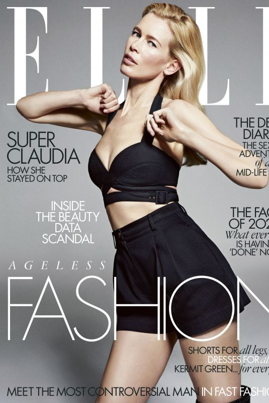 CLAUDIA SCHIFFE in Elle Magazine, UK May 2020