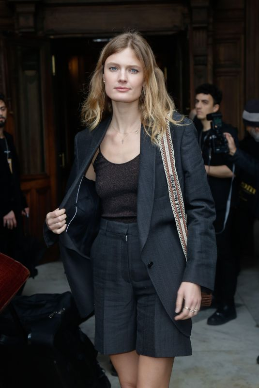 CONSTANCE JABLONSKI at Stella McCartney Fashion Show at PFW in Paris 03/02/2020
