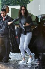 COURTENEY COX Out and About in Beverly Hills 03/12/2020