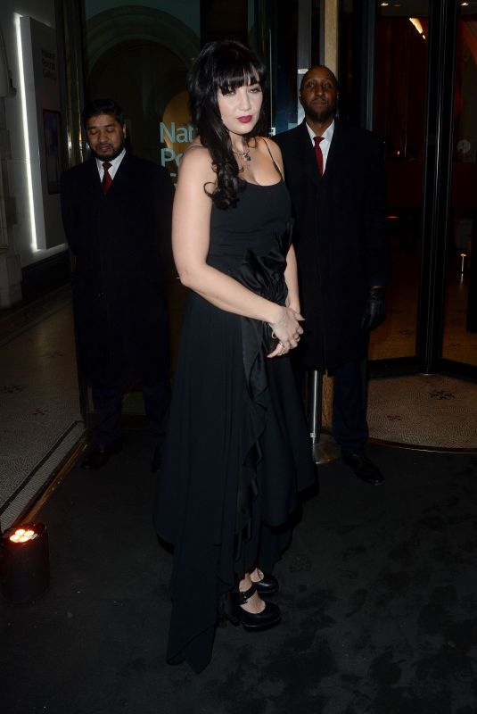DAISY LOWE at National Portrait Gallery in London 03/09/2020