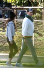DAKOTA JOHNSON and Chris Martin Out in Malibu 03/28/2020