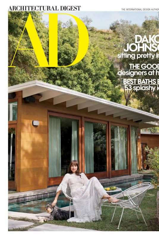 DAKOTA JOHNSON in Architectural Digest Magazine, March 2020