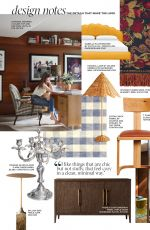 DAKOTA JOHNSON in Architectural Digest Magazine, March 2020