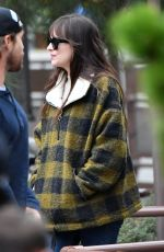 DAKOTA JOHNSON Out in Disneyland in Anaheim 03/01/2020