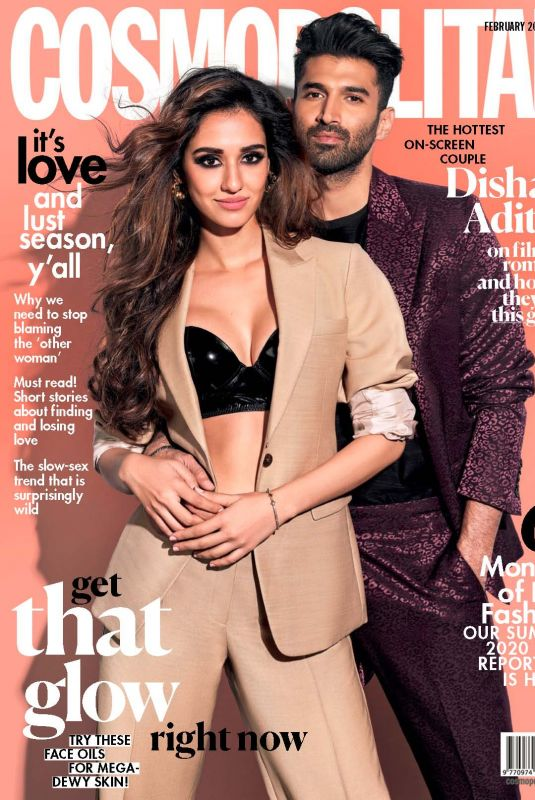DISHA PATANI in Cosmopolitan Magazine, India February 2020