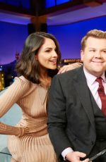 EIZA GOINZALEZ at Late Late Show with James Corden 03/12/2020