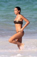 ELISA DE PANICIS and ELENA GUSMEROLI in Bikinis at a Beach in Tulum 03/26/2020