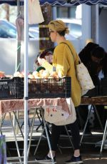 ELIZABETH BANKS Shopping at Garmer
