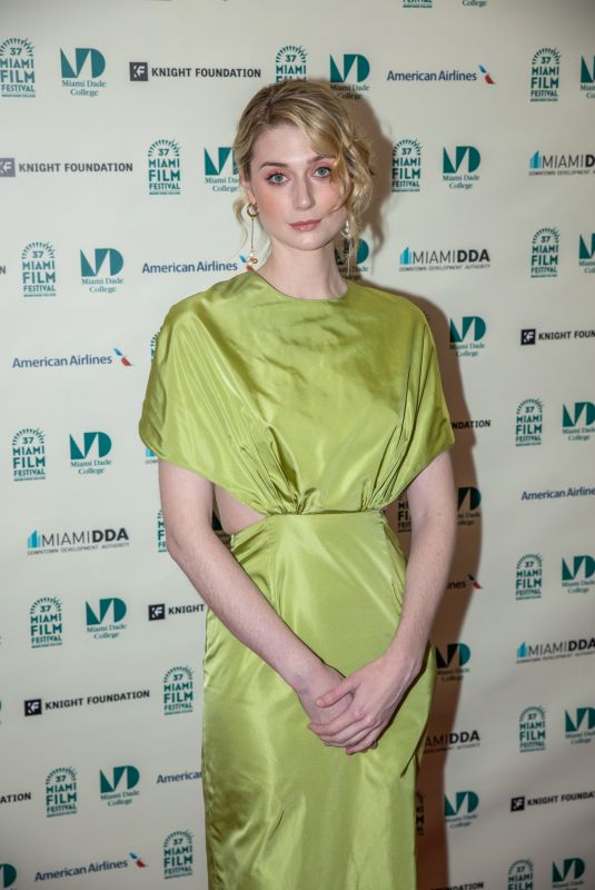 ELIZABETH DEBICKI at 37th Annual Miami Film Festival Opening Night 03/06/2020