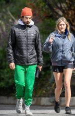 ELIZABETH OLSEN and Robbie Arnett Out in Sherman Oaks 03/23/2020