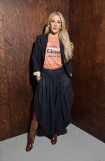 ELLIE GOULDING at Chloe Show at Paris Fashion Week 02/27/2020