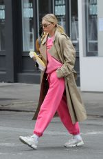 ELSA HOSK Out and About in New York 03/03/2020