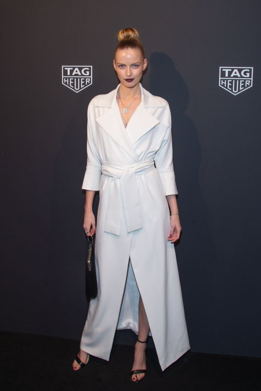 ELZA MATIZ at Launch of New Connected Watch by Tag Heuer in New York 03/12/2020