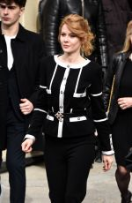 EMILY BEECHAM at Chanel Fashion Show in Paris 03/03/2020