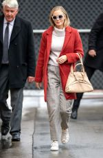 EMILY BLUNT Arrives and Leaves Jimmy Kimmel Live in Los Angeles 03/10/2020
