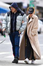 EMILY RATAJKOWSKI and Sebastian Bear McClard Out with Their Dog in New York 03/22/2020