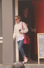 EMMA ROBERTS and Garret Hedlund Out in Los Angeles 03/13/2020