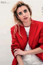 EMMA ROBERTS in S Moda Magazine, APril 2020