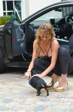 ESTER DEE on the Set of The Real Housewives of Cheshire 03/18/2020