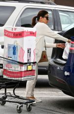 EVA LONGORIA Shopping at Joann Fabrics and Crafts in Sherman Oaks 03/14/2020