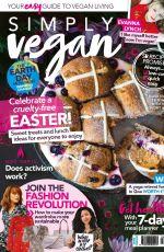 EVANNA LYNCH in Simply Vegan Magazine, April 2020