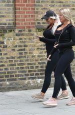 EVE and JESS GALE Out and About in London 03/30/2020