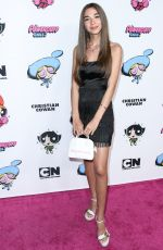 EVIE THEODOROU at 2020 Christian Cowan x Powerpuff Girls Runway Show in Hollywood 03/08/2020