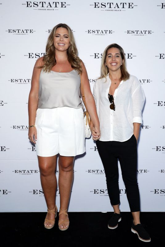 FIONA FALKINER and HAYLEY WILLIS at Launch Party for Estate at Coogee Beach 03/10/2020
