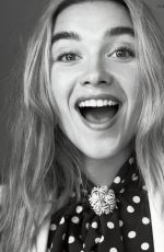 FLORENCE PUGH in Vogue Magazine, Spain April 2020