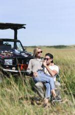 FRIDA AASEN at Safari in Masai Mara in Kenya 03/23/2020
