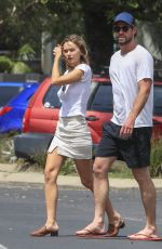 GABRIELLA BROOKS and Liam Hemsworth Out in Byron Bay 03/06/2020