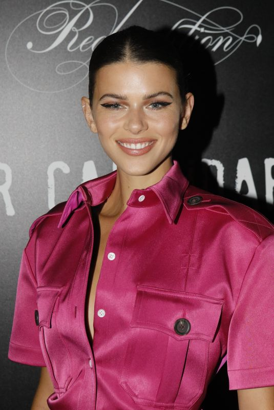 GEORGIA FOWLER at CR Fashion Book x Redemption Party in Paris 02/28/2020