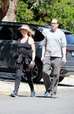 GOLDIE HAWN and Boston Russell Out in Los Angeles 03/27/2020