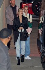 HAILEY and Justin BIEBER at Wednesday Church Service in Los Angeles 03/11/2020