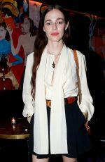 HAILEY BENTON at Chloe Dinner at Paris Fashion Week 02/27/2020