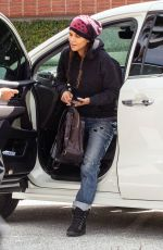 HALLE BERRY Out and About in Los Angeles 02/29/2020