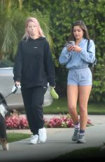 HANNAH ANN in Shorts Out and About in Los Angeles 03/26/2020