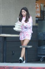 HANNAH ANN Out and About in Los Angeles 03/22/2020