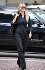 HEIDI KLUM Out and About in Pasadena 03/07/2020