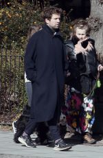 HELENA BONHAM CARTER and Rye Dag Holmboe Out in London 03/30/2020