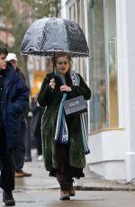 HELENA BONHAM CARTER Out in London 03/19/2020