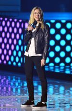 HOLLY BRANSON at WE Day UK at SSE Arena Wembley 03/04/2020