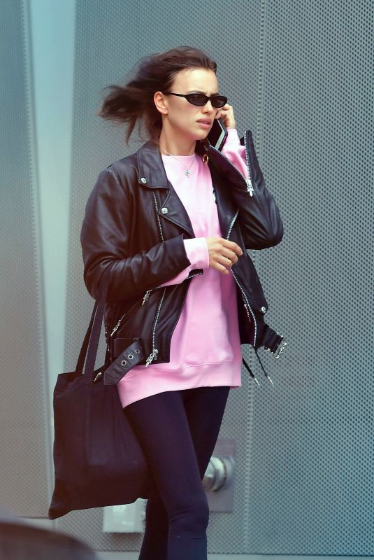 IRINA SHAYK Out and About in New York 03/13/2020