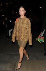 IRIS LAW Arrives at Mulberry Party in London 03/10/2020