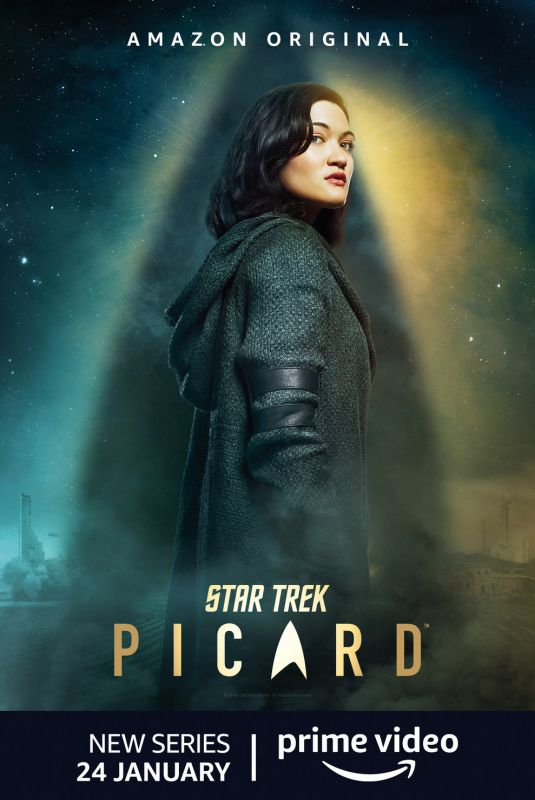 ISA BRIONES – Star Trek Picard, Season 1 Poster and Promos