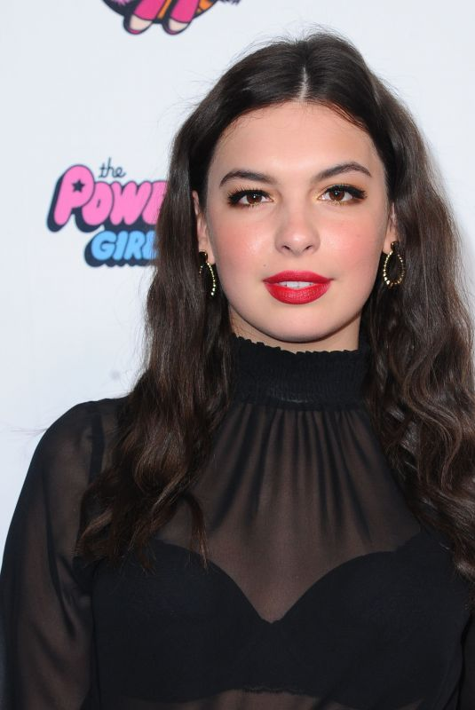 ISABELLA GOMEZ at 2020 Christian Cowan x Powerpuff Girls Runway Show in Hollywood 03/08/2020