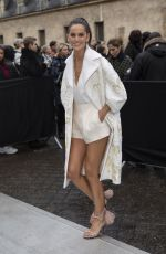 IZABEL GOULART Arrives at Valentino Show at Paris Fashion Week 03/01/2020
