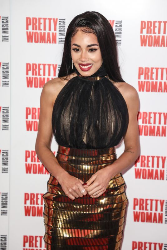 JADE EWEN at Pretty Woman: The Musical Press Night in London 03/02/2020
