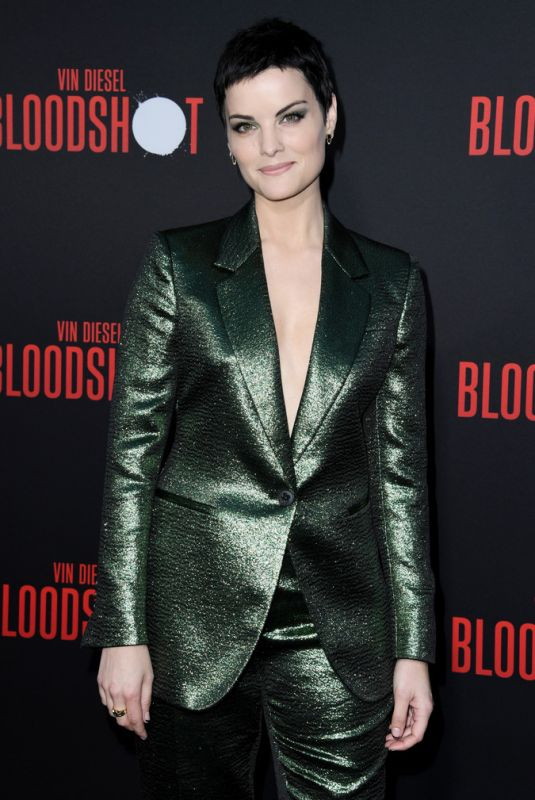 JAIMIE ALEXANDER at Bloodshot Premiere in Los Angeles 03/10/2020